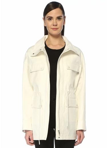 Yves Salomon Ceket Beyaz